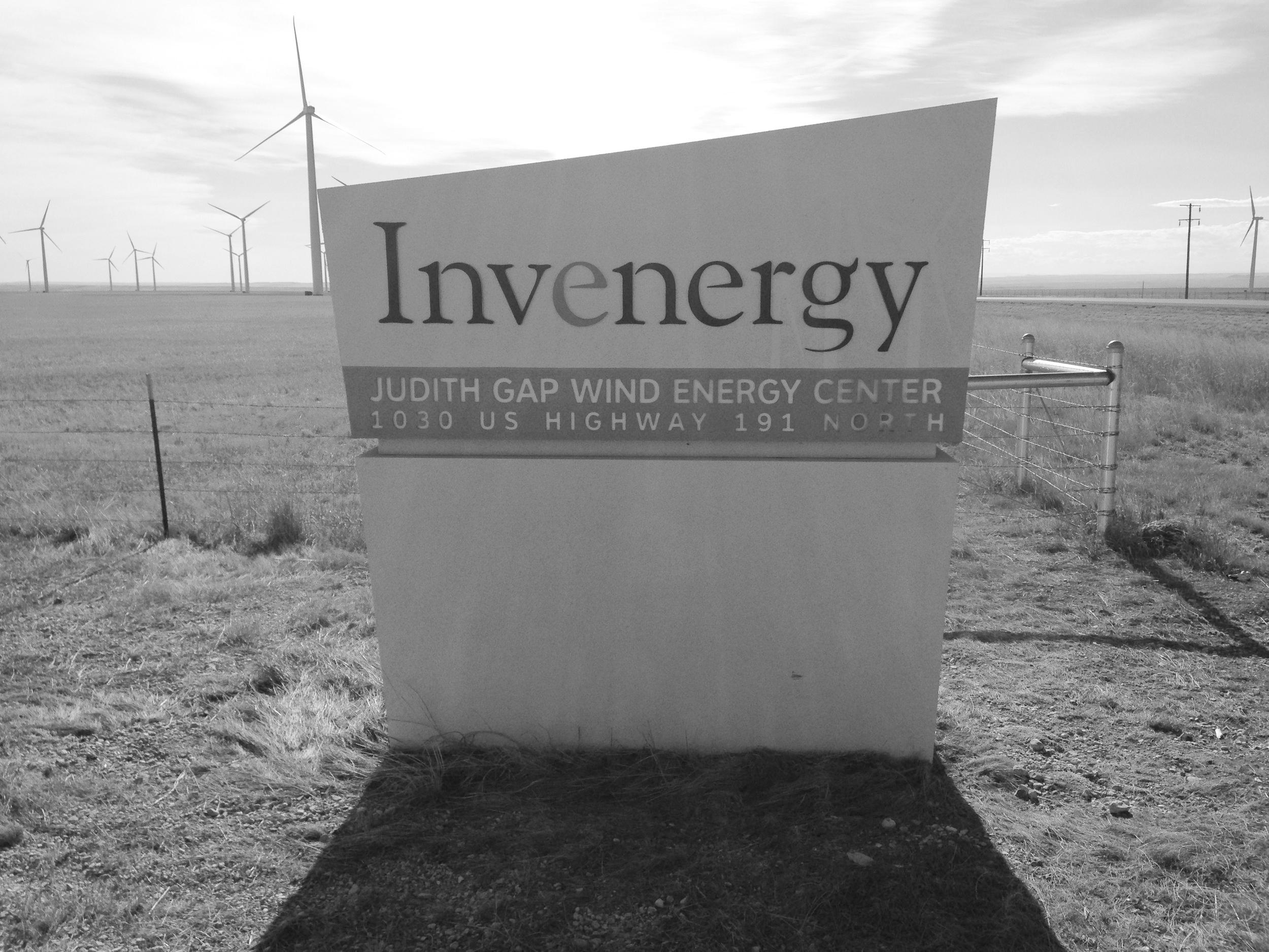 Judith Gap Wind Farm -