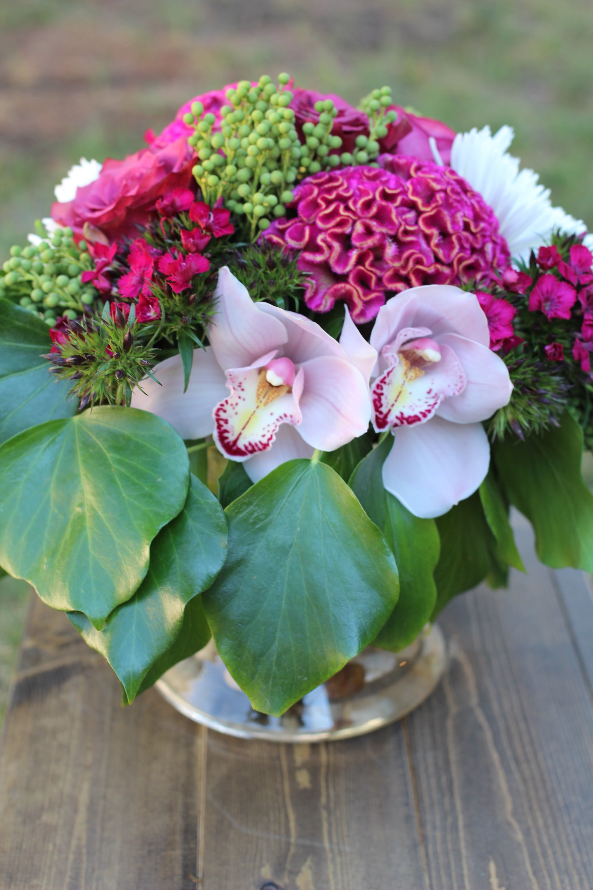 floral arrangements for the private homes