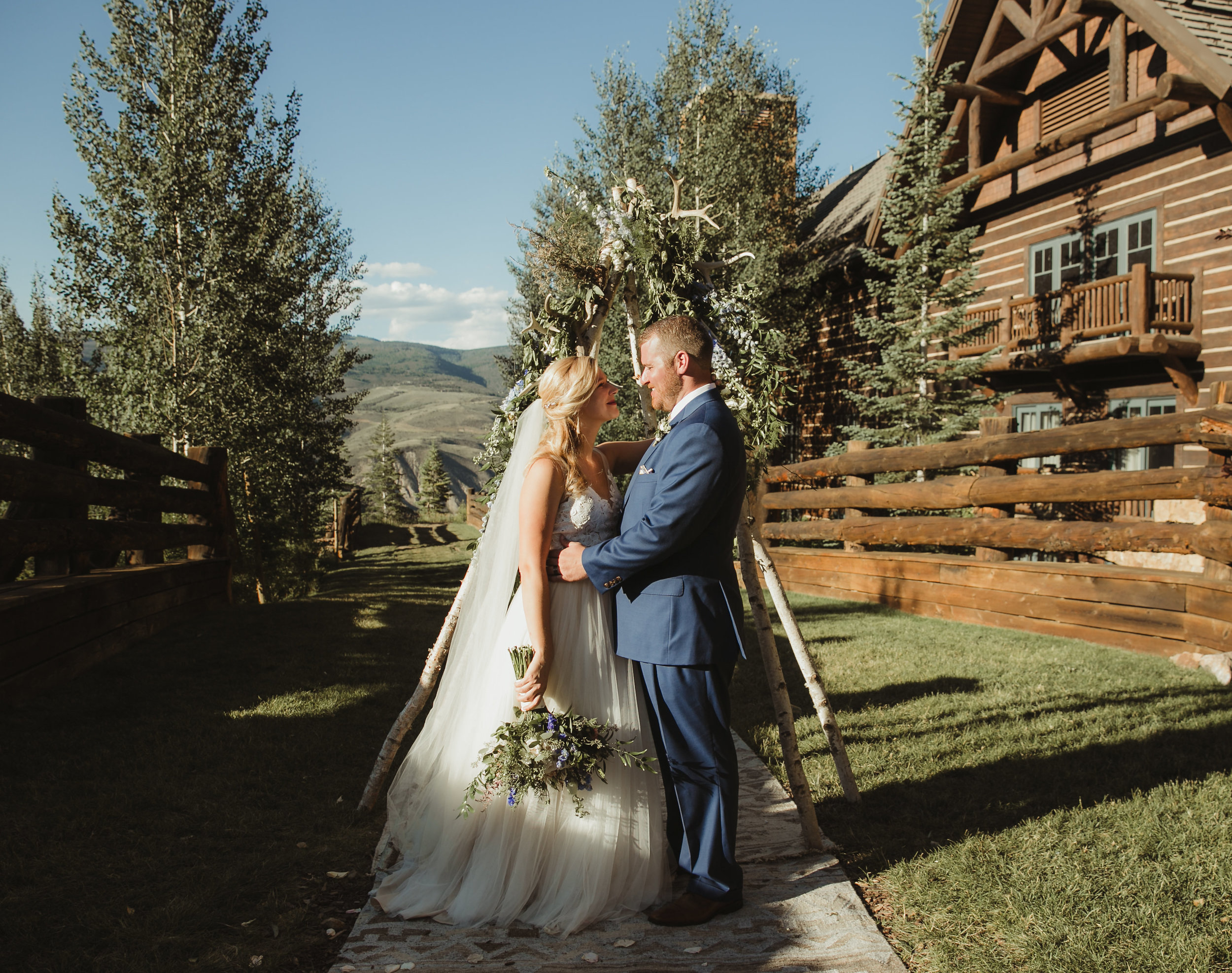 outdoor wedding florist vail co