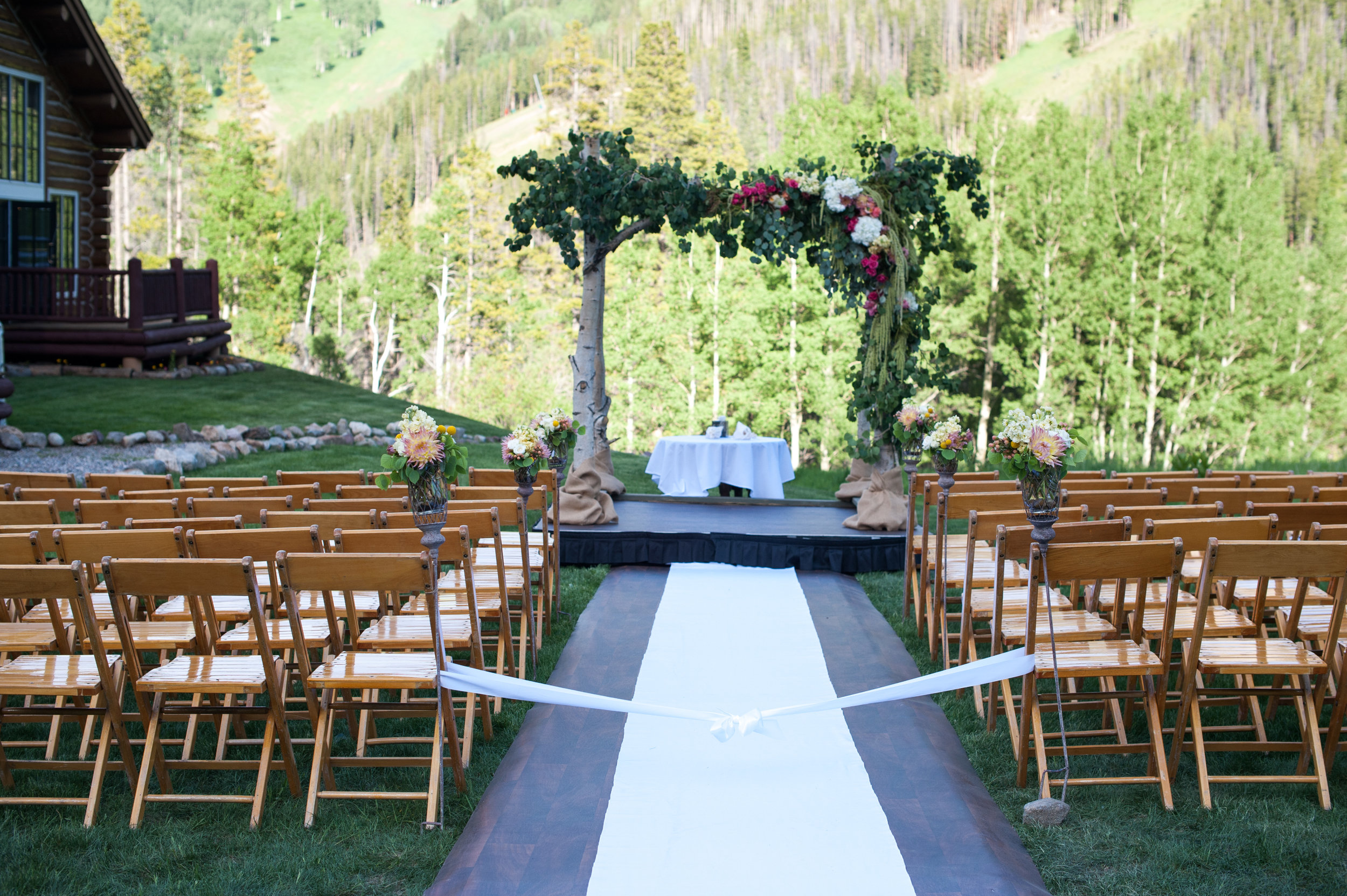 wedding arch flower vail co