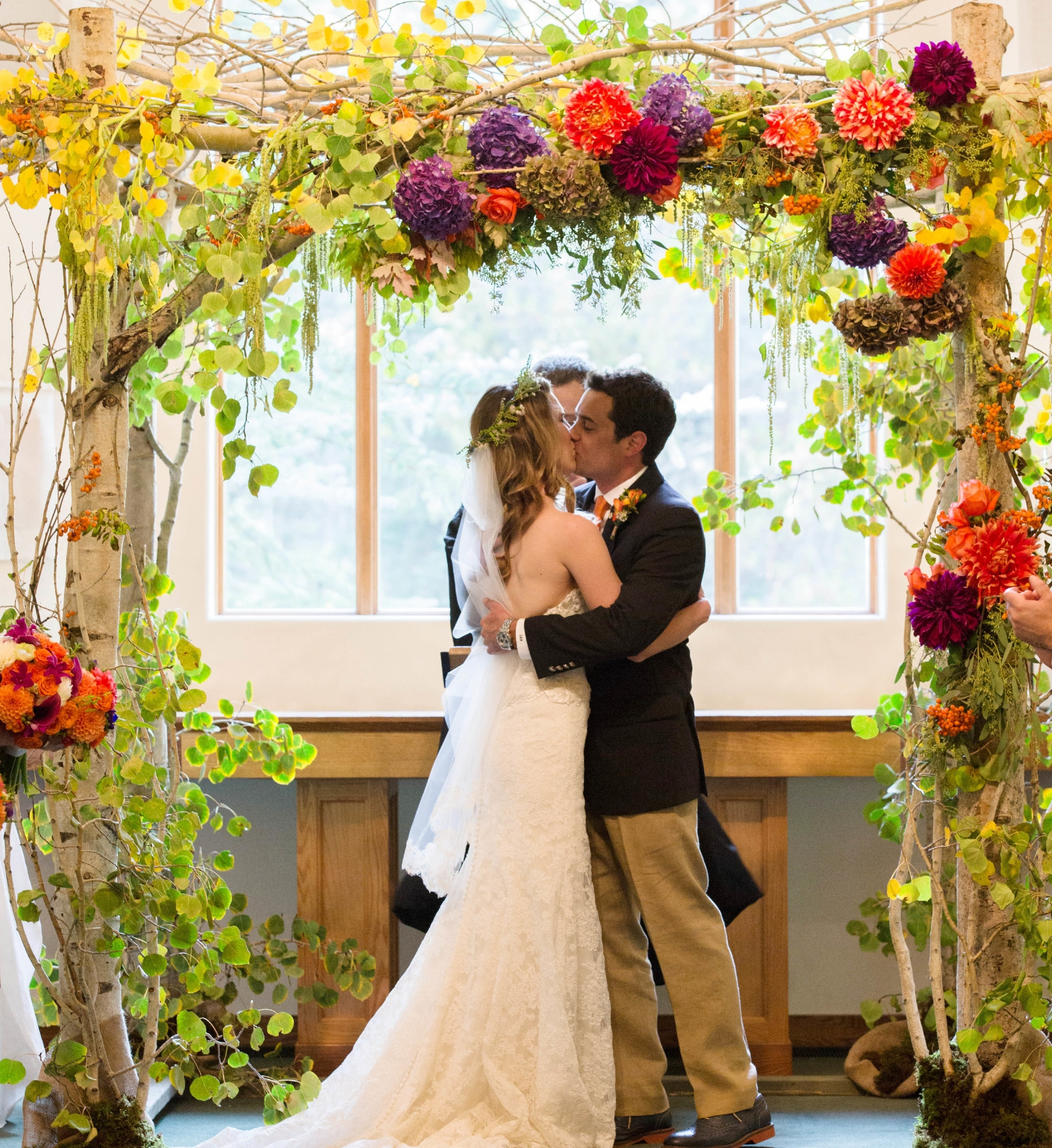 The flowers were perfection! You definitely got the concept and executed beautifully!Thank you for adding the final touches to make our wedding perfect! - LAURA (NIX) GERSON