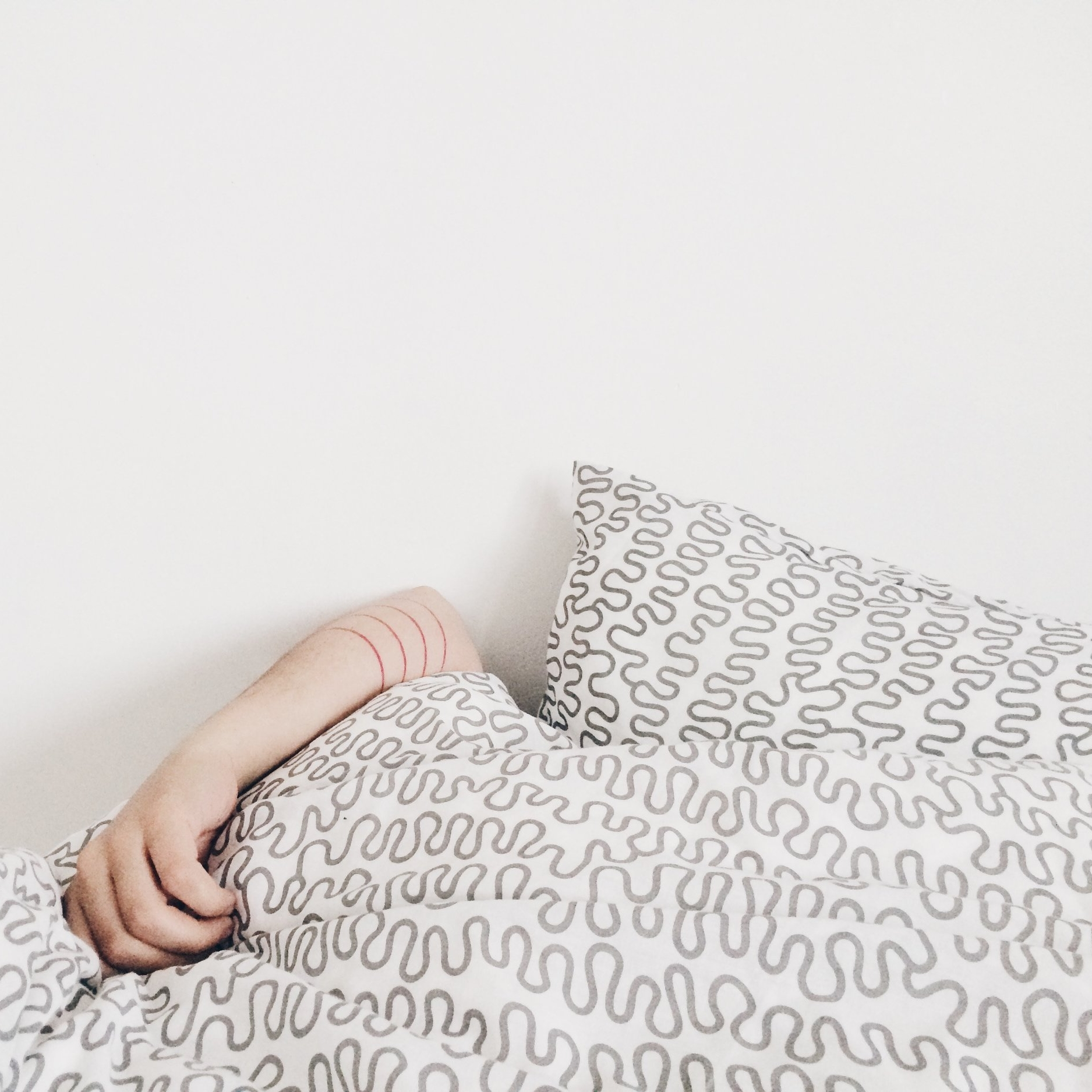 Getting a good nights sleep can be a challenge try and avoid bright screens such as your phone 1-2 hours before bed.