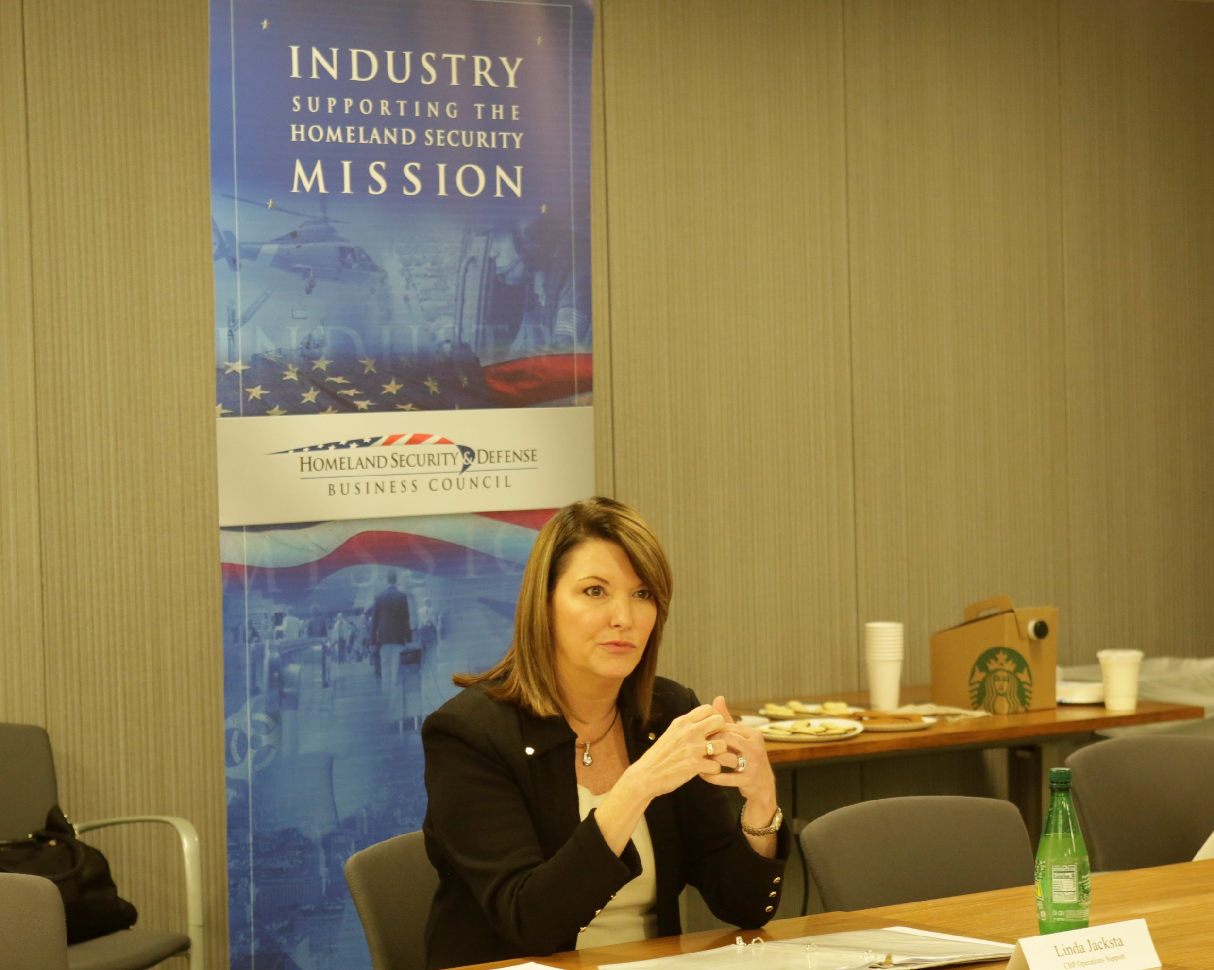 Executive Briefing with Linda Jacksta, Deputy Executive Assistant Commissioner, CBP Operations Support