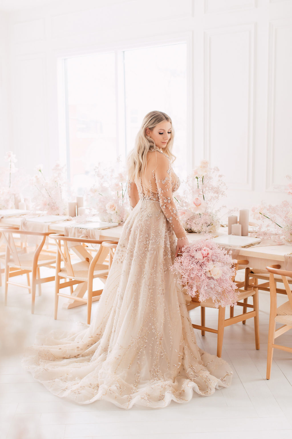 A TOUCH OF NEUTRAL - Purple Tree Photography- As Seen In Wedluxe Magazine -