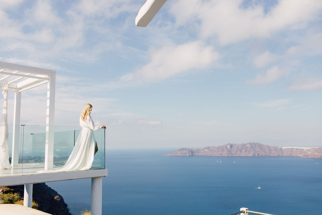 SANTORINI DREAMING - Purple Tree Photography- As Seen In Wedluxe Magazine -