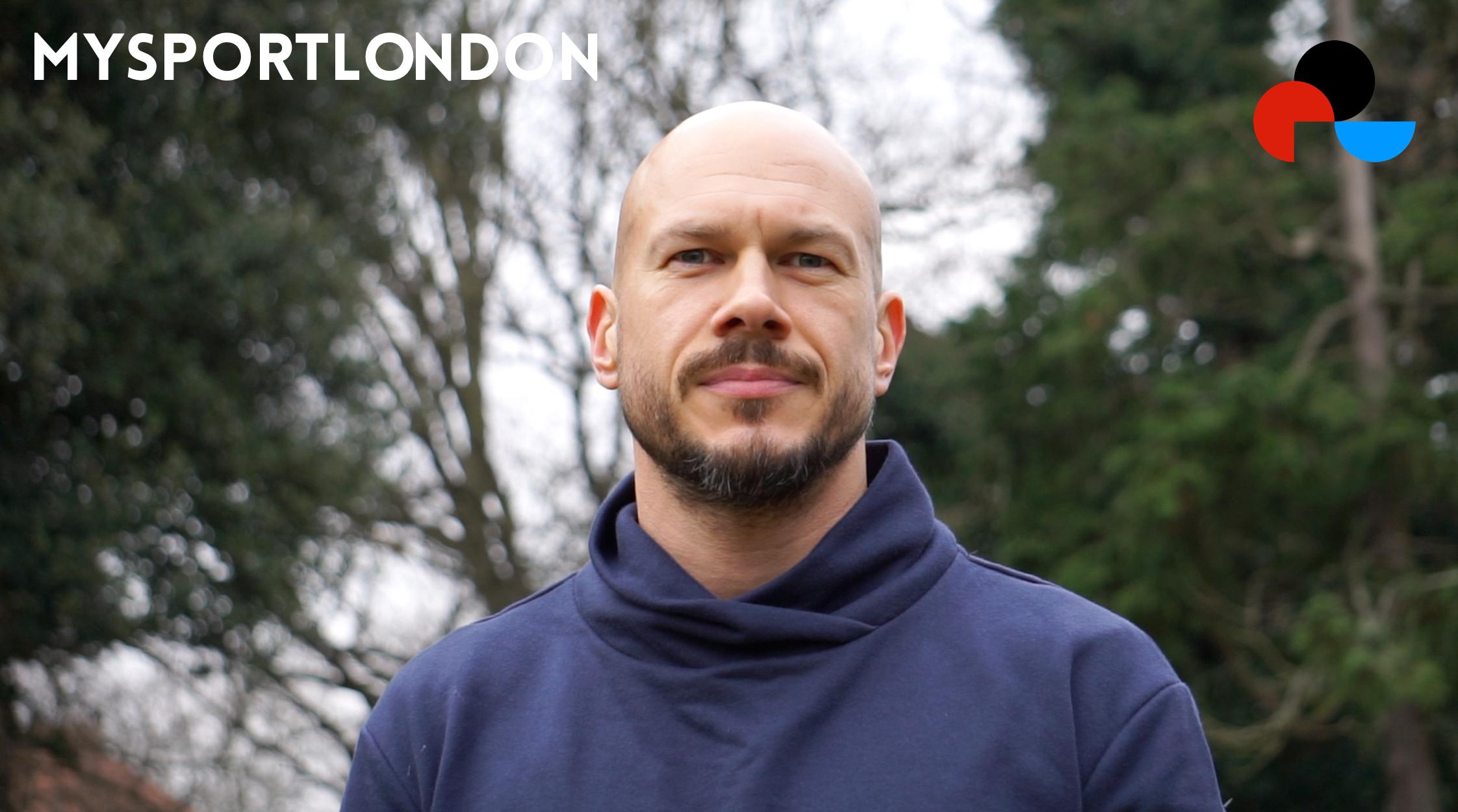 MYSPORTLONDON master trainer Ben Wilcox