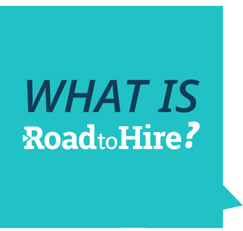 - Road to Hire is a work force development program with the goal to empower and arm young individuals with the necessary tools to build a career in modern industries so that Charlotte has an inclusive economic mobility.