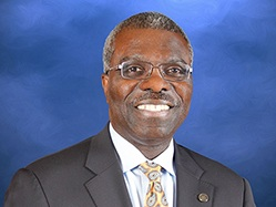 Clarence Armbrister, JCSU President