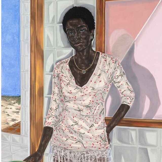Hi all! I was hosted by the lovely @antresewood on @savvypainterpodcast . We spoke about: painting, then and now, Portraits As Construct, and then came to a challenge about what kind of figurative art could be really engaging in the hands of the right painter. @toyinojihodutola and @genievefiggis also come up in convo, so please enjoy images of their work. Links where links go. ☺