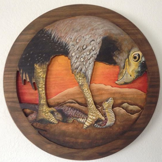 Hawkandsnake_keaneggett_kean_carving_painting.png