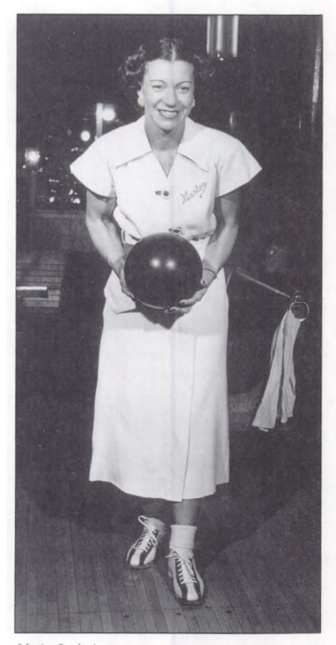 Marion Ladweig, Courtesy of the International Bowling Museum and Hall of  Fame.
