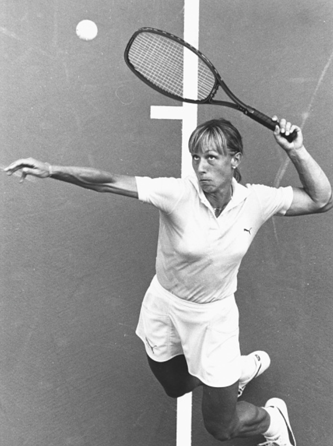 Navratilova holds the records for most singles (167) and doubles titles (177) in the  open era . Her record as No.1 in singles (1982–86) remains the most dominant in professional tennis to date.