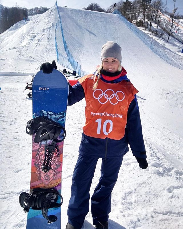 #brokenwrist #winterolympics #pyeongchang #pyeongchang2018 #snowboarding #snowboarder #katieormerod Repost @ormerodkatie ・・・ First training day and the course is awesome!! 😀 Unfortunately I slipped off a rail in training and fractured my wrist. I'm all good and looking forward to continuing to train and getting ready to compete on Sunday!! 😁 #whenlifegivesyoulemons 🍋
