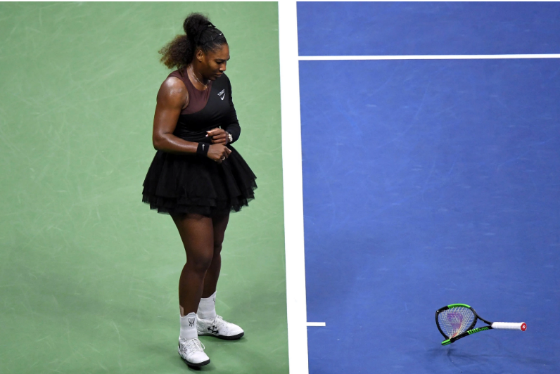 "Serena Williams has part of it right. There  is  a huge double standard for women when it comes to how bad behavior is punished — and not just in tennis.  But in her protests against an umpire during the United States Open final on Saturday, she also got part of it wrong. I don't believe it's a good idea to apply a standard of ""If men can get away with it, women should be able to, too."" Rather, I think the question we have to ask ourselves is this: What is the right way to behave to honor our sport and to respect our opponents?   READ MORE HERE >"
