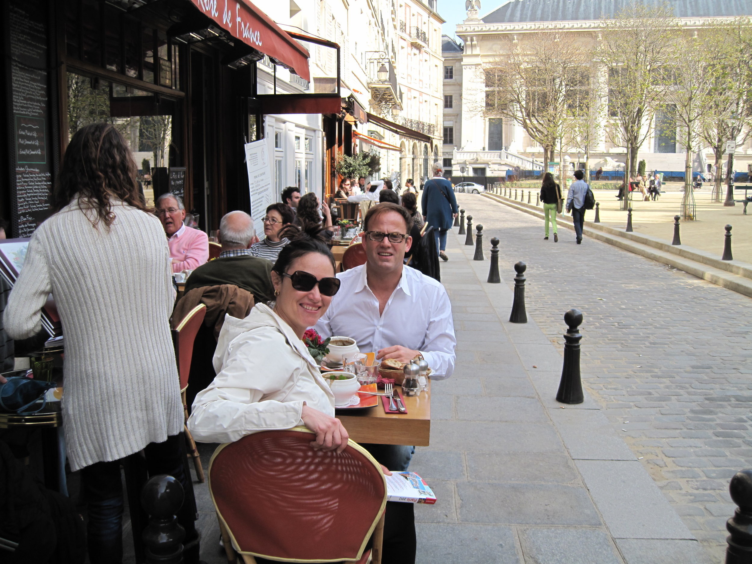 Lunch at a Cafe - Paris, France