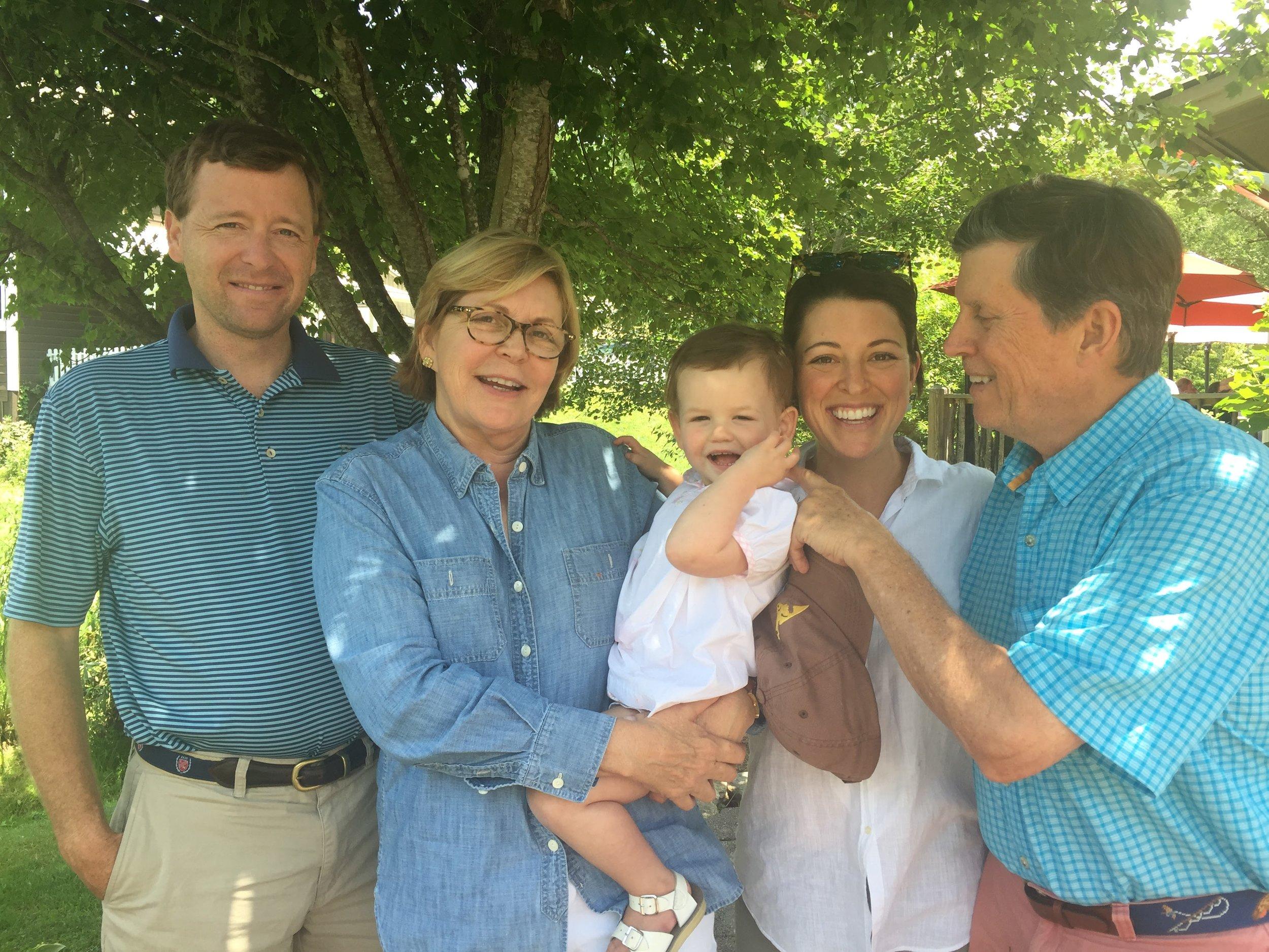 A fun day with Grandma and Grandpa