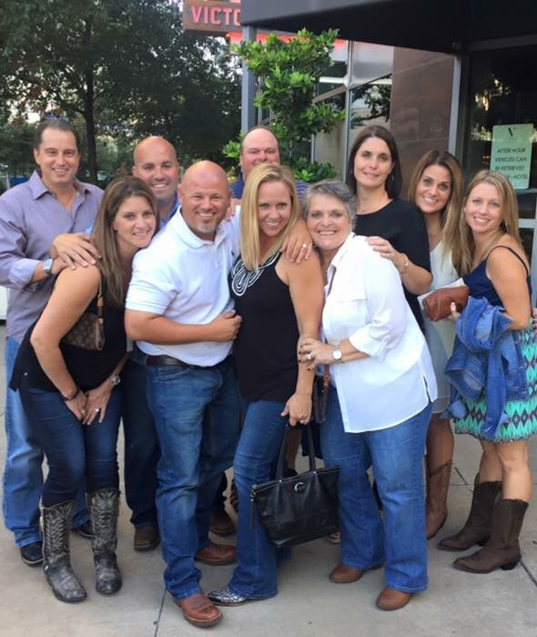 Going into the Garth Brooks concert with my family and best friends.
