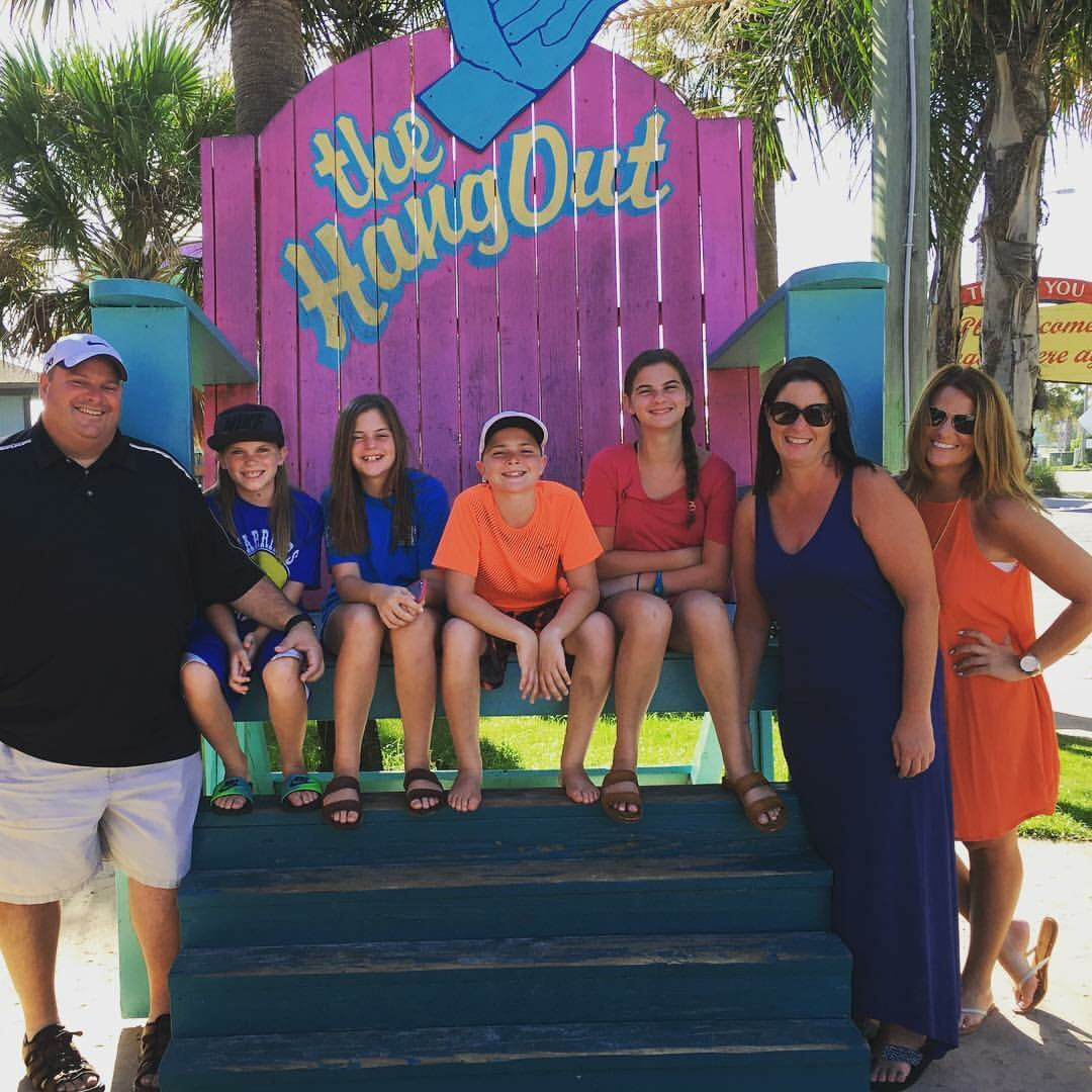 Vacation in Gulf Shores with my brother and his family.