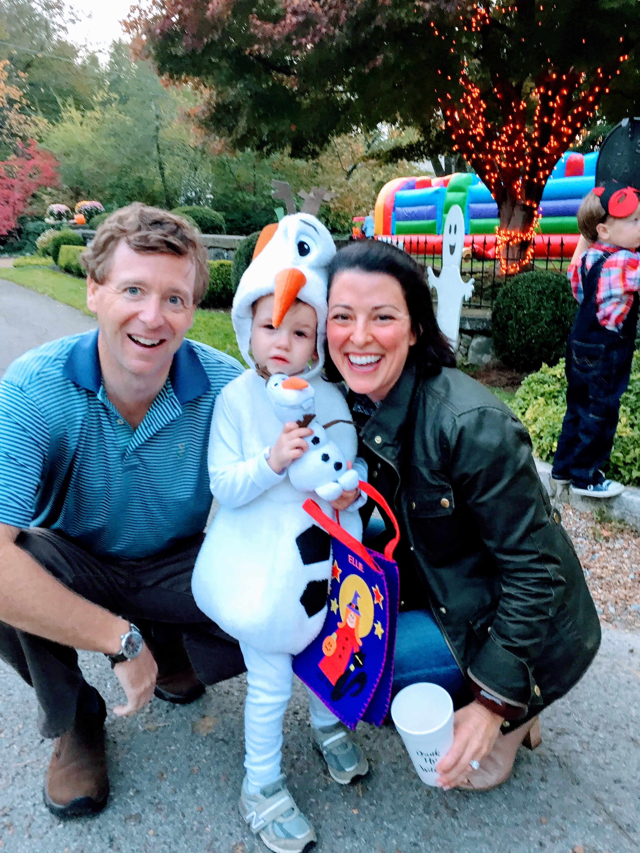 Trick-or-Treating in our precious community