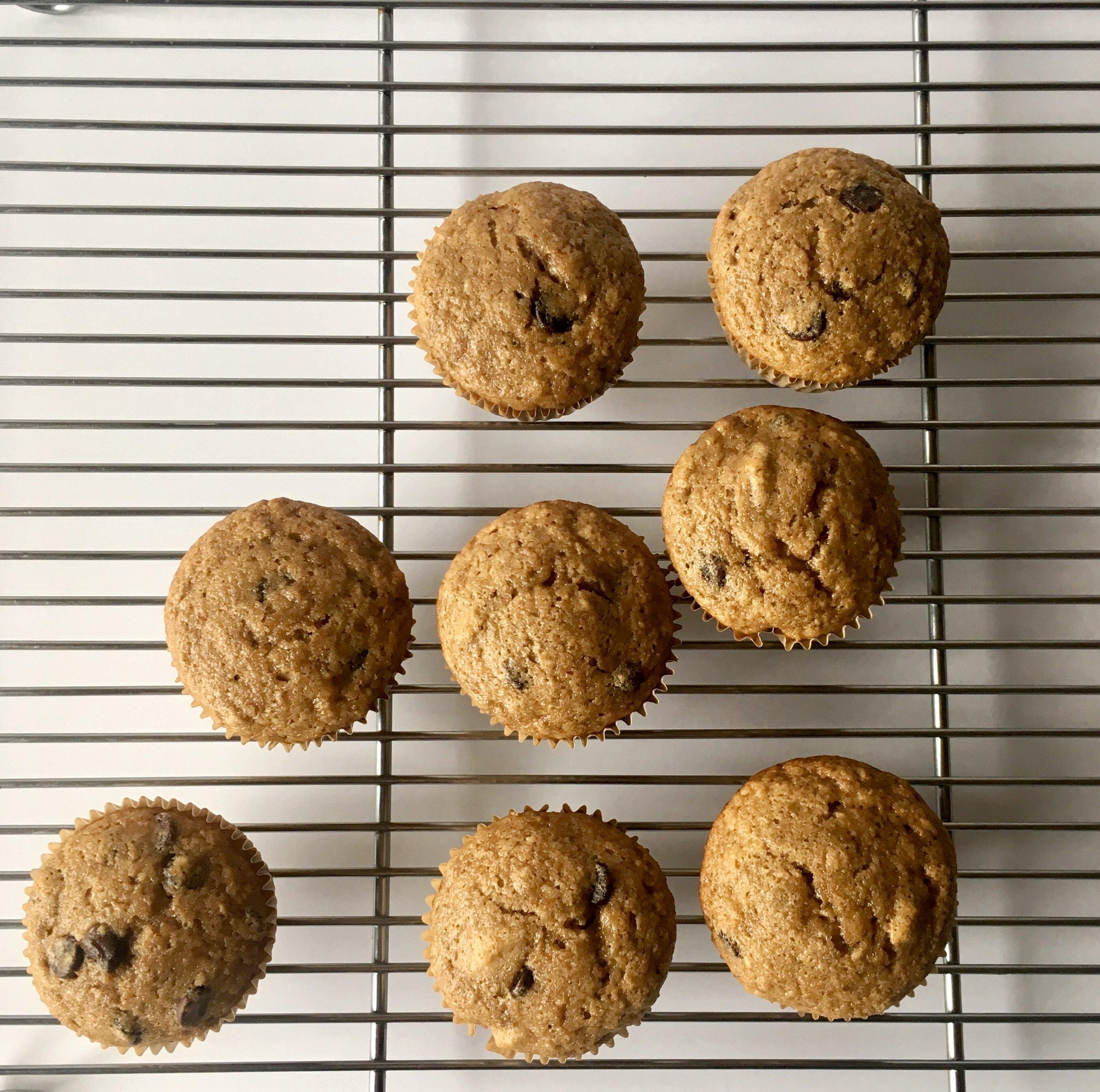 banana nut muffin