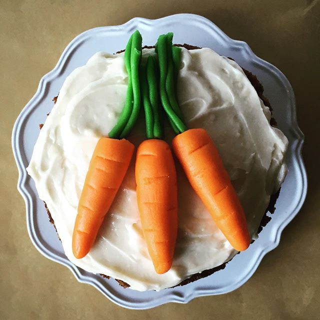 Happy Easter Everyone! An old post but appropriate for the holiday! Had so much fun with these #marzipan carrots