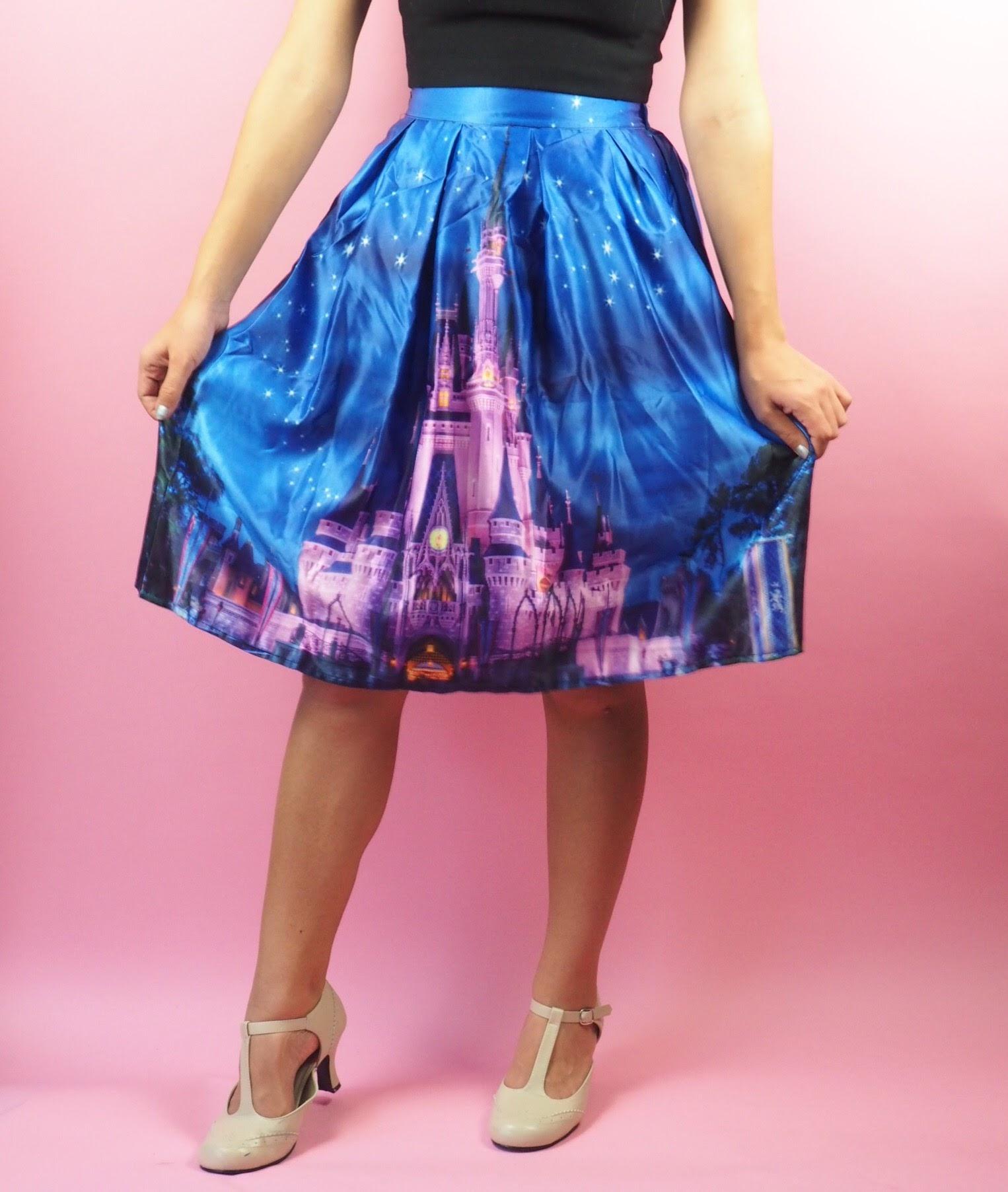 Cinderella's Castle Swing Skirt