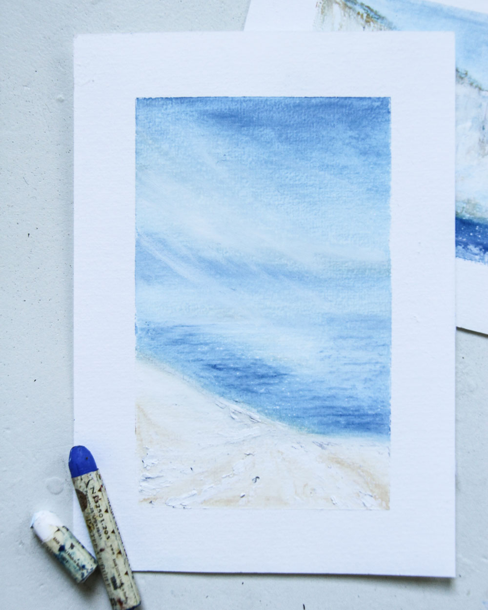 Winter Ocean Vestkapp   16 x 9,5 cm   €89