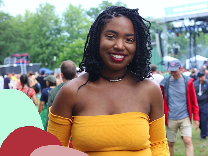 London, 26Chicago, IL - Confident, funny, free-spirited@elleayjayPhotographed at Pitchfork Music Festival