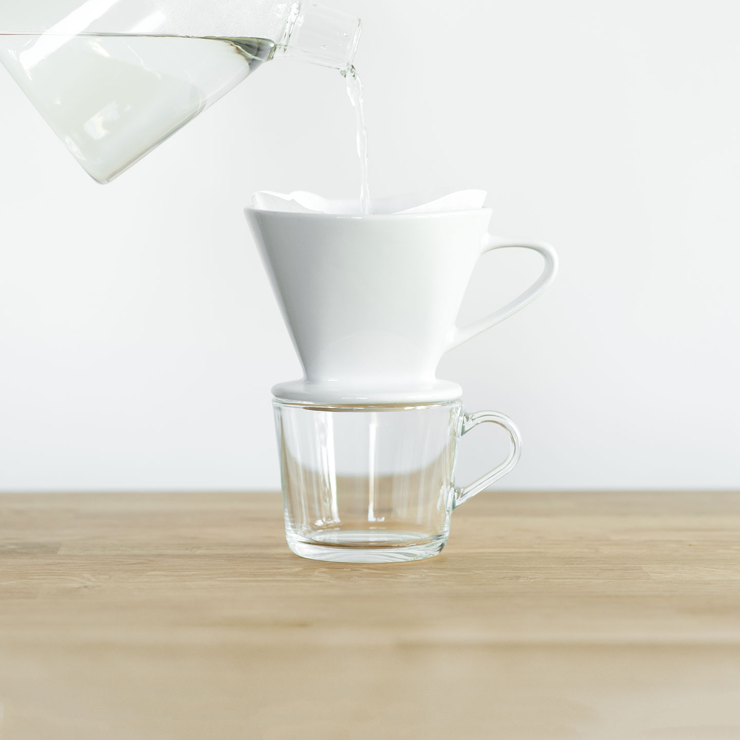 Step 02: Pour Water