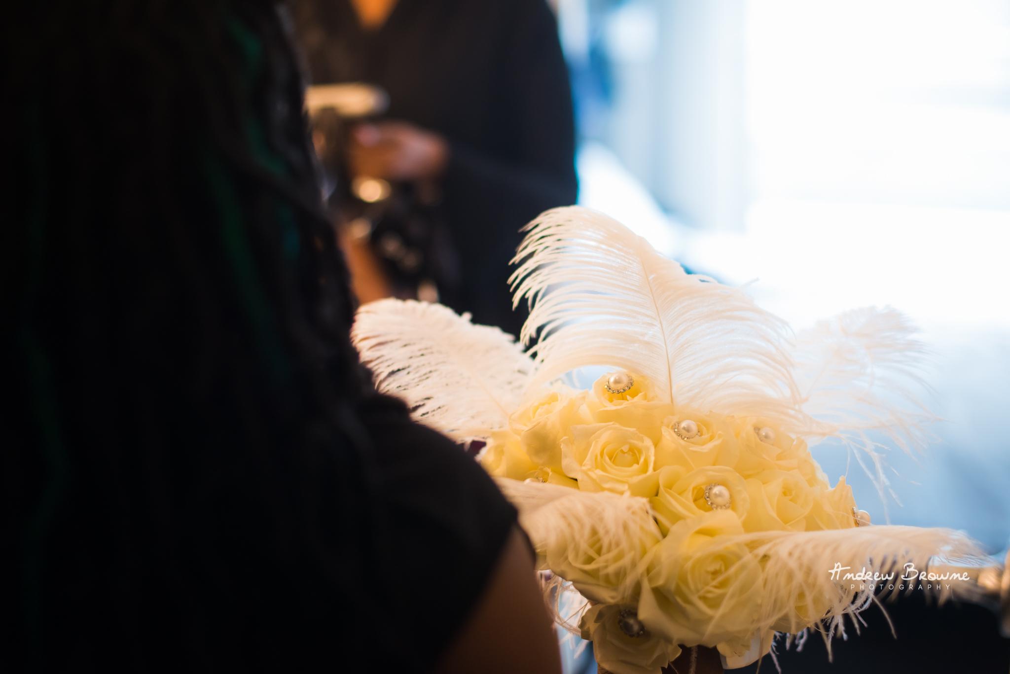 Harlem Renaissance Brooklyn Loft Wedding Flowers (5).jpg