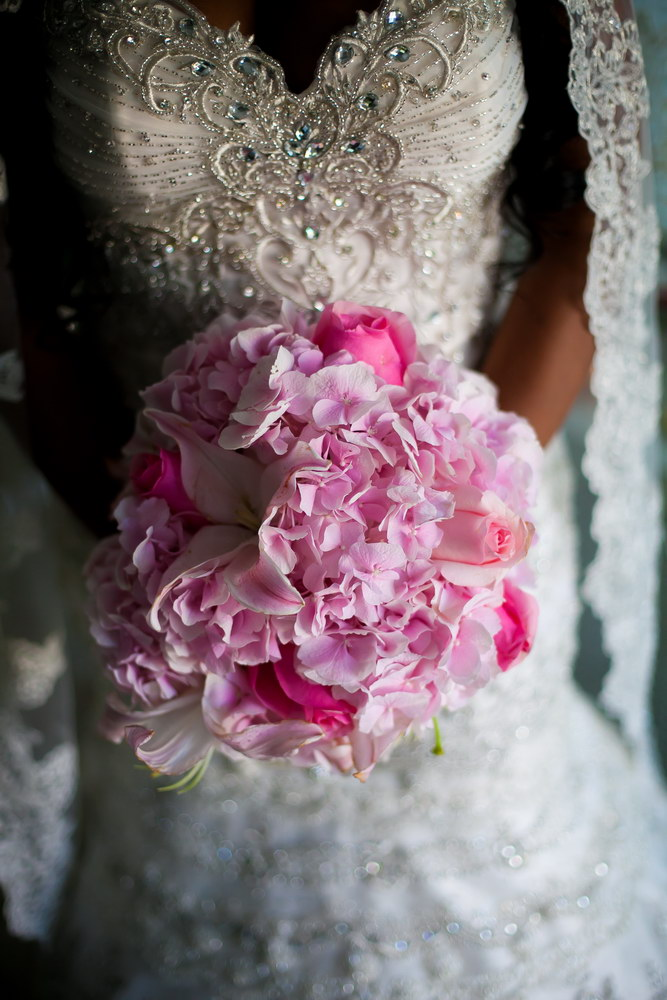 Pink and Sparkle Bride Bouquet (1).JPG