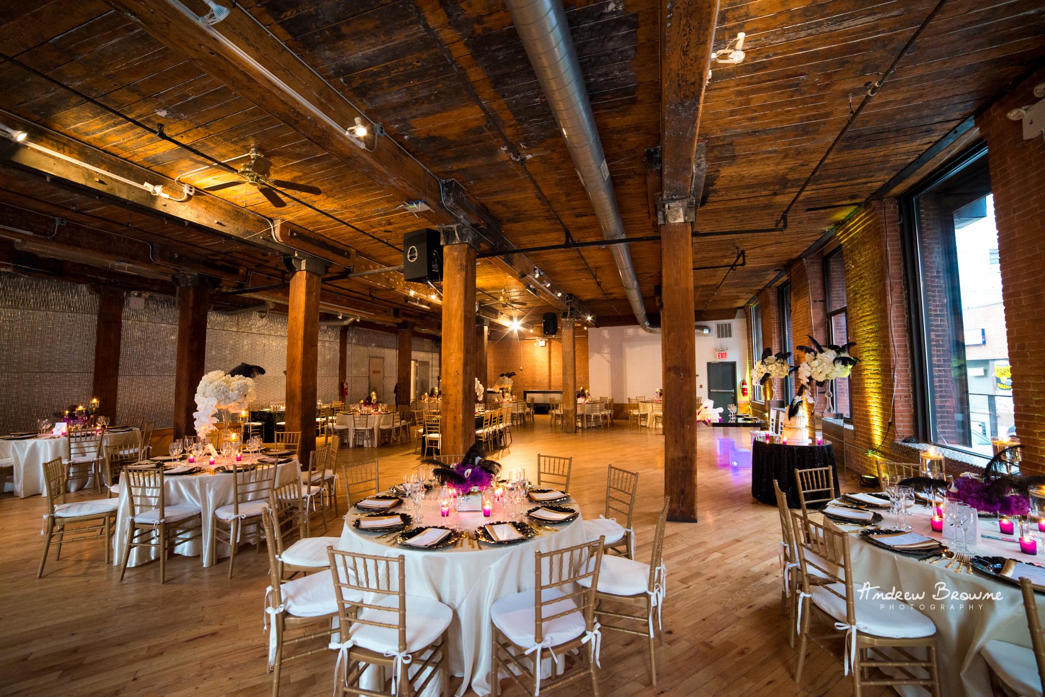 Harlem Renaissance Brooklyn Loft Wedding Flowers (1).jpg