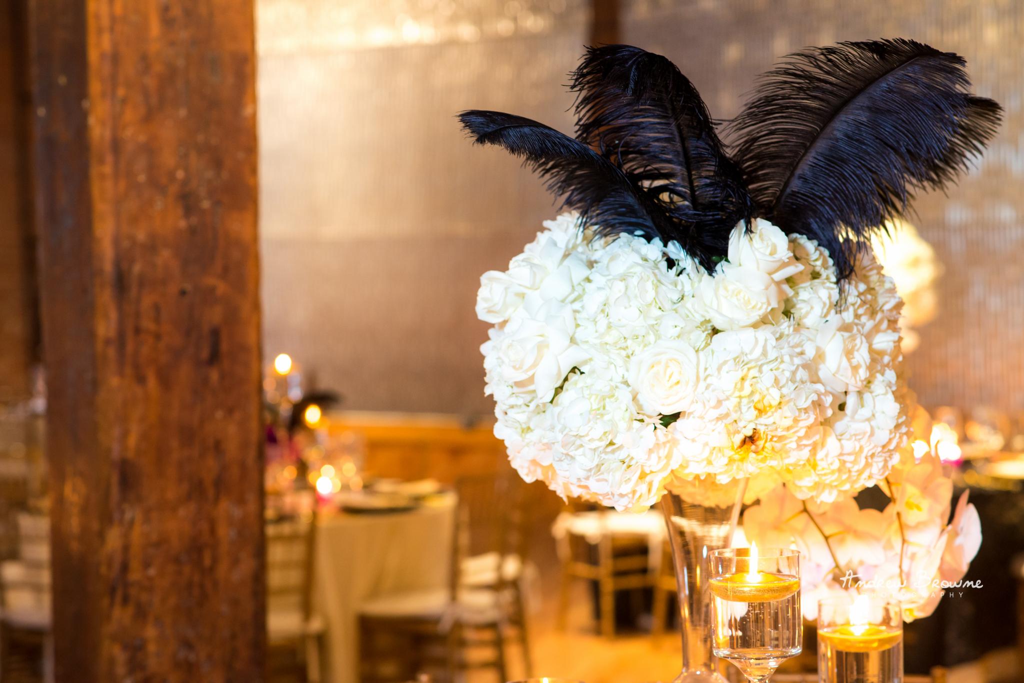 Harlem Renaissance Brooklyn Loft Wedding Flowers (4).jpg