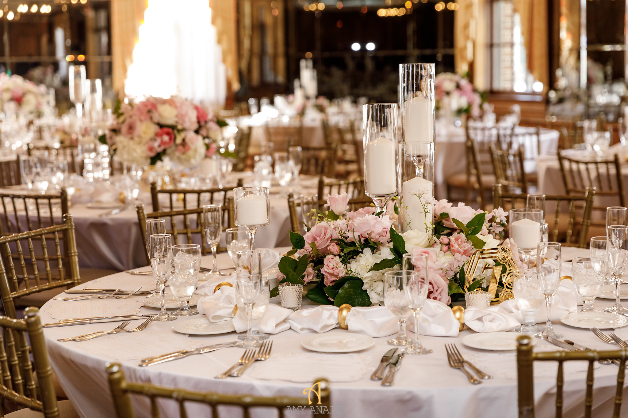 NYIT de Serversky Mansion, Long Island Wedding, Blush and Ivory Wedding Flowers.JPG