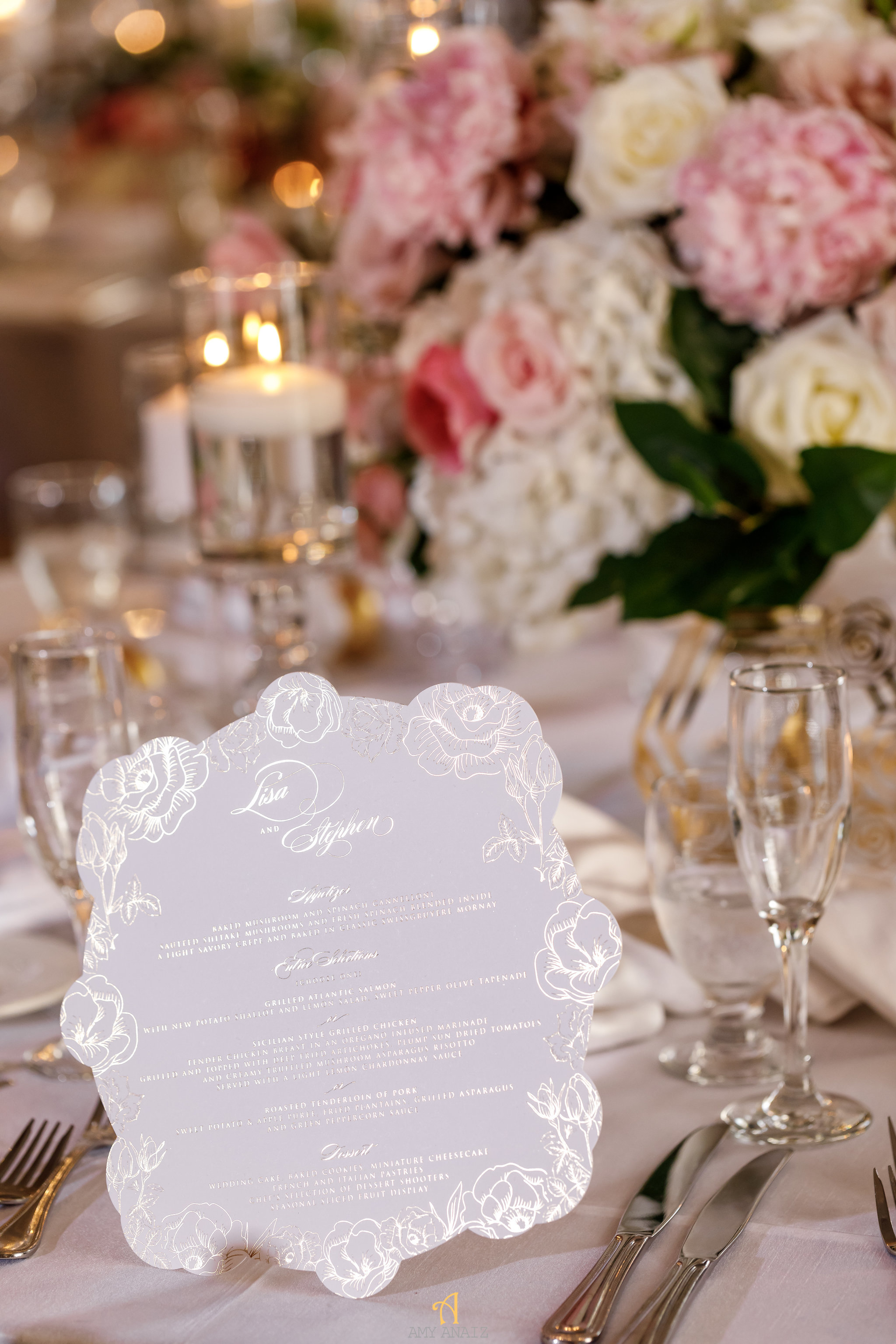 NYIT de Serversky Mansion, Wedding Menu, Wedding Stationery, Long Island Wedding.JPG