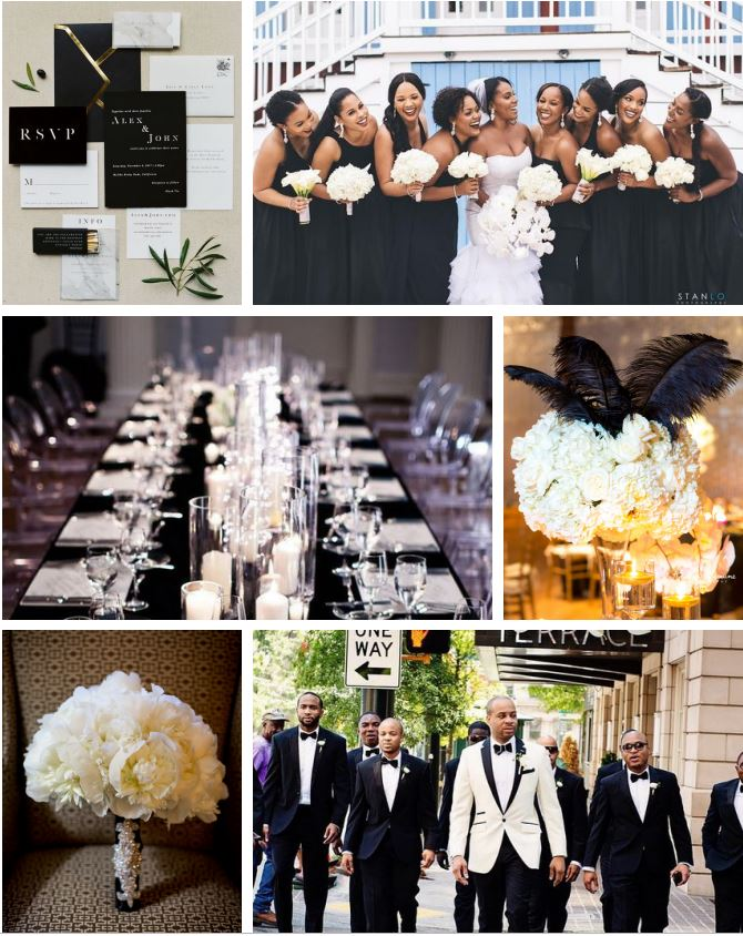 Black and White Wedding Inspiration Board.JPG