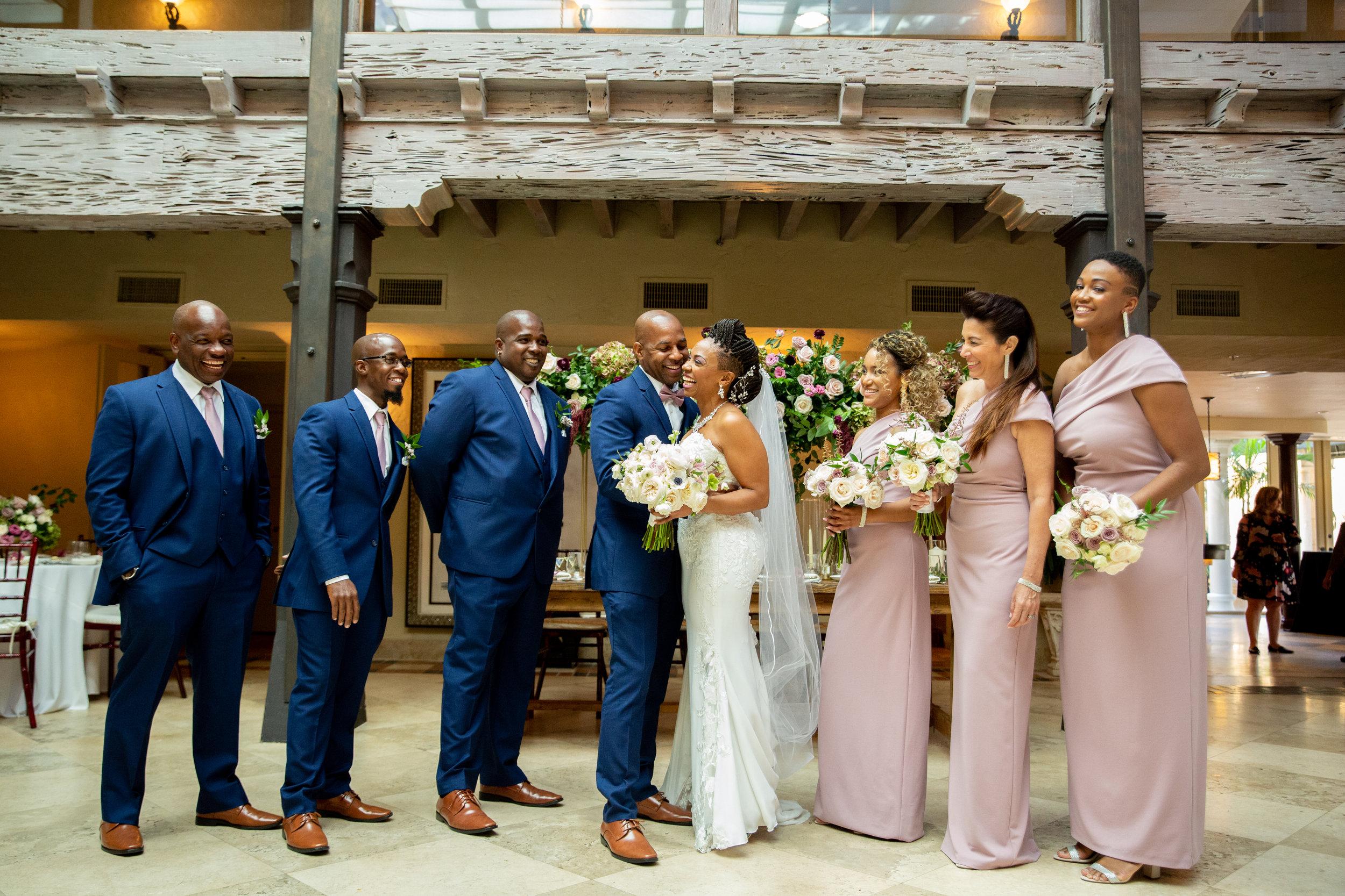 The Addison Boca Raton, South Florida Wedding, Bridal Party Portraits.jpg