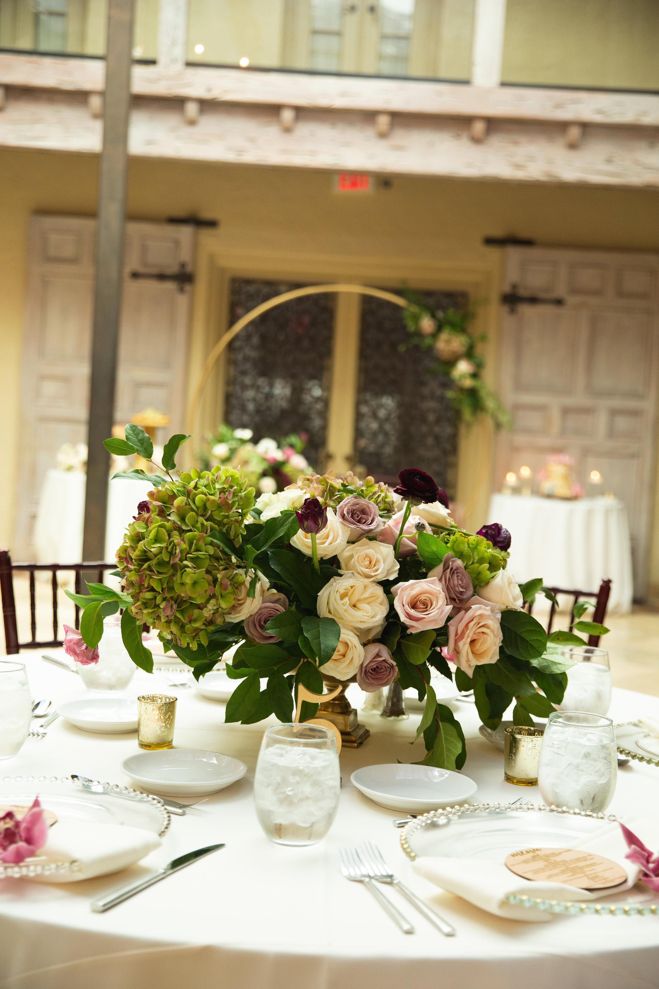 The Addison Boca Raton, South Florida Wedding, Garden Wedding, Low Centerpiece.jpg