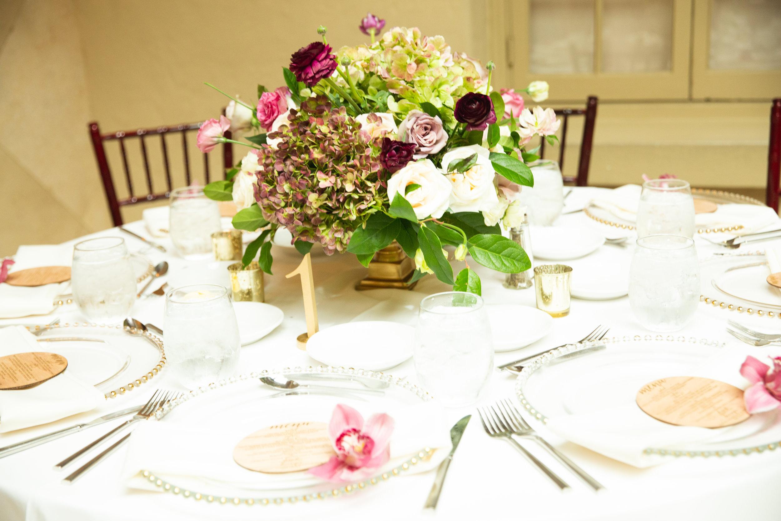 The Addison Boca Raton, South Florida Wedding, South Florida Wedding Florist, Low Centerpiece.jpg