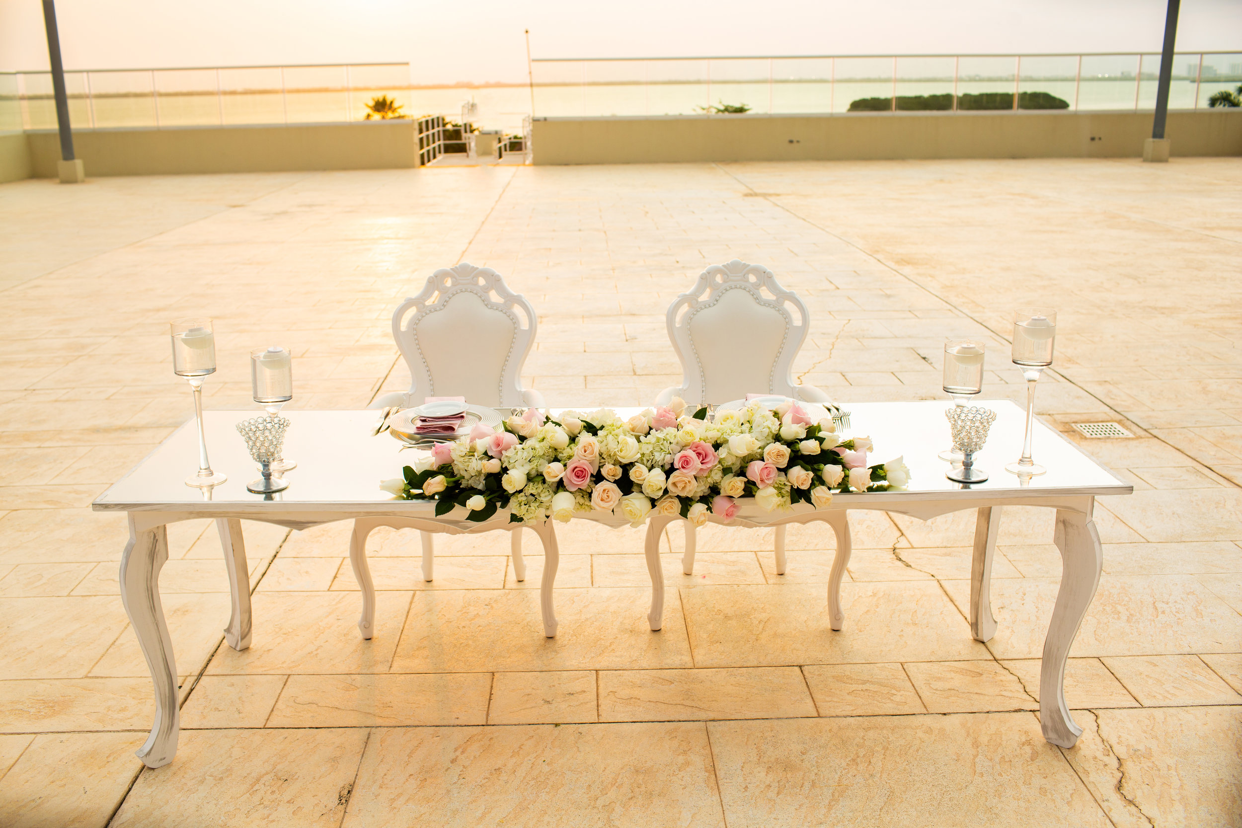 Destination Wedding Cancun, Reem Photography, Sunset Wedding Reception.jpg