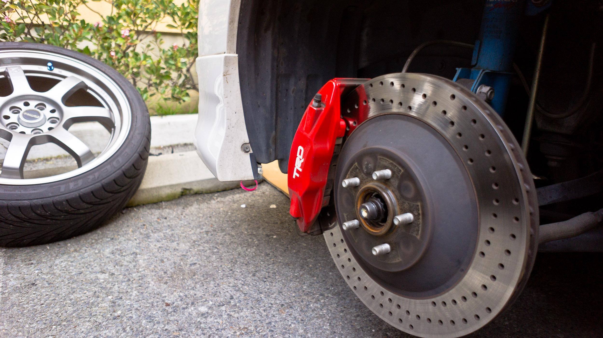 TRD big brake kit