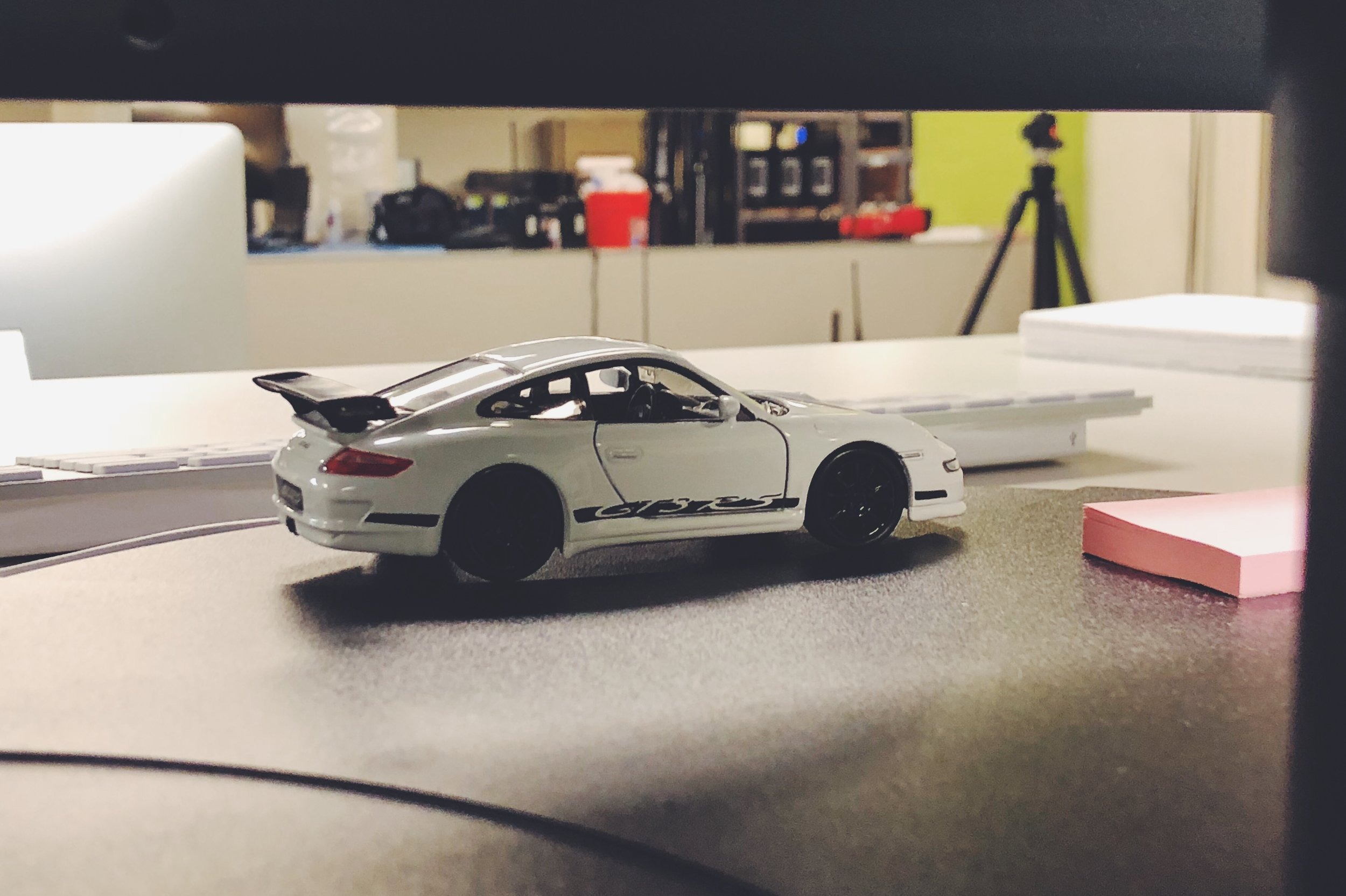 Got a white one as well, in the only size of Porsche I can afford.