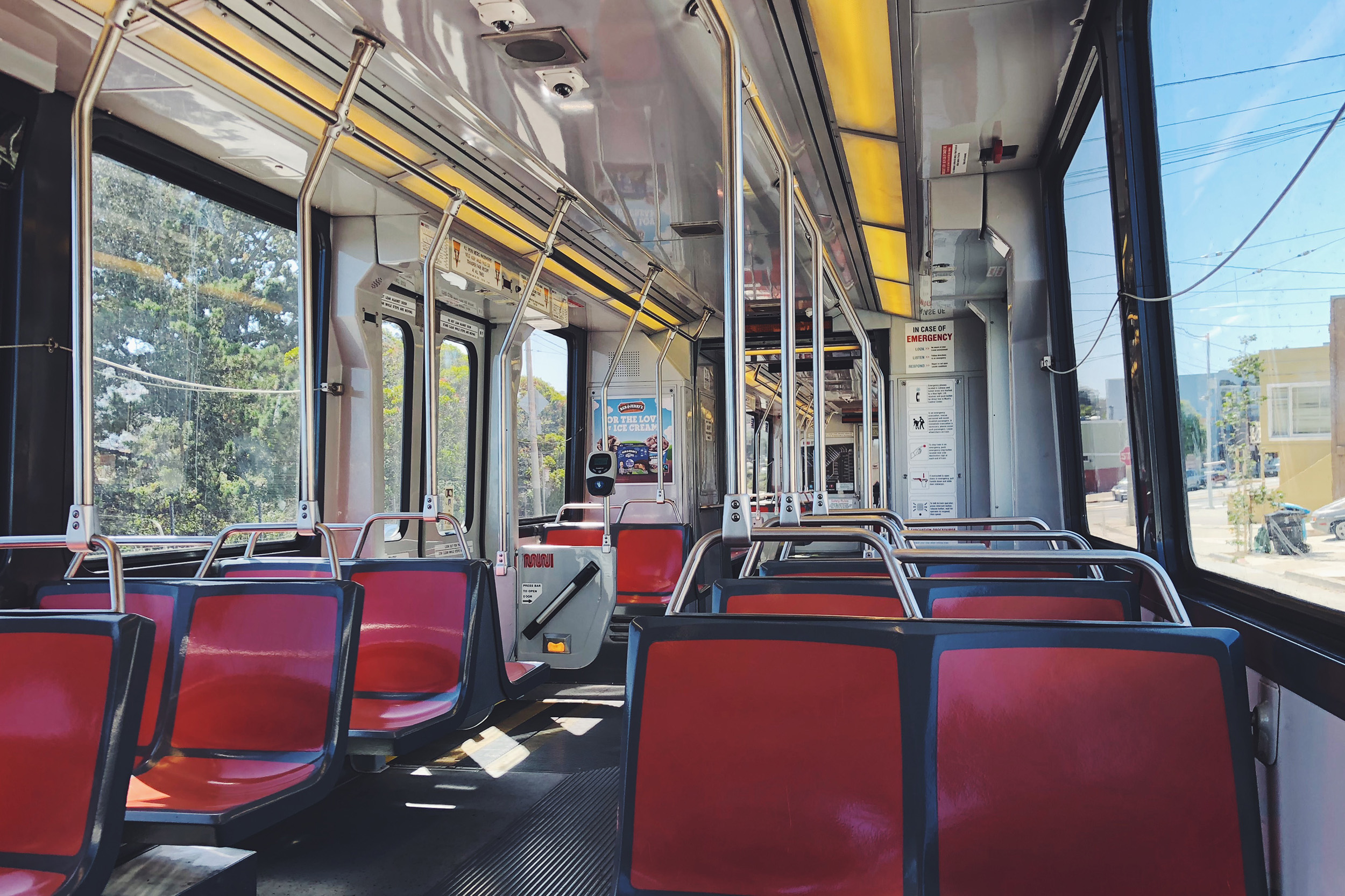 That time when I was the only passenger on the train and it wasn't late at night.