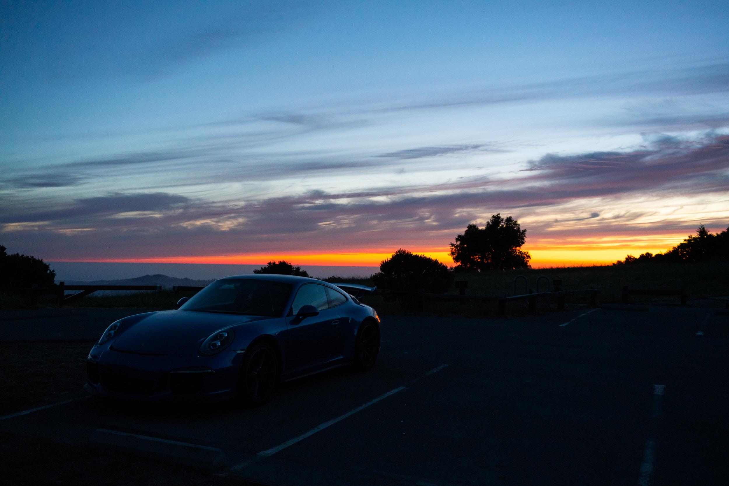 porsche-911-gt3-sunset-audrey-c-rust-commemorative-site-parking.jpg