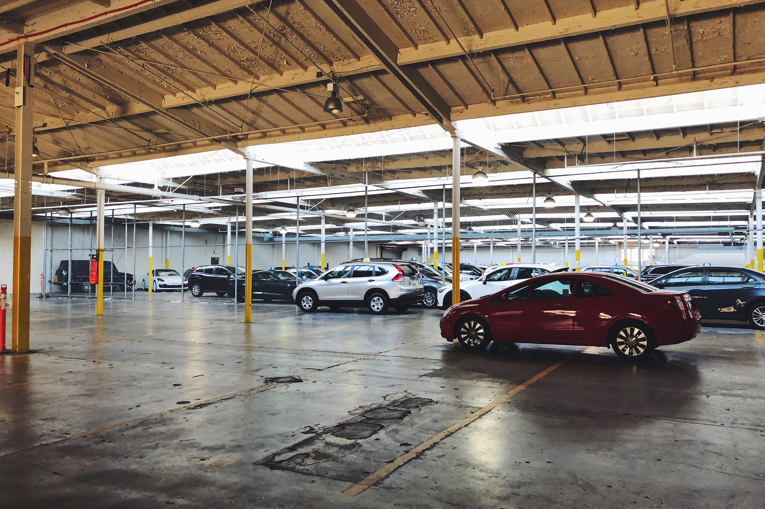 Warehouses full of cars are cool. Exhibit A.