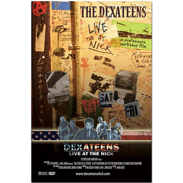 "The side project that went sideways...the ""never before seen"" movie poster designed for a passion project that went off the rails many years ago.  It's a long story... #liveandlearn #thedexateens #dexateens #thenickrocks #leebainsiiiandthegloryfires #drivebytruckers #birmingham #alabamamusicians #alabama #movieposter #youtube"