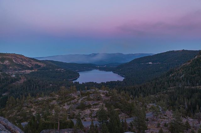 Donner Lake  #donnerlake #california #cold
