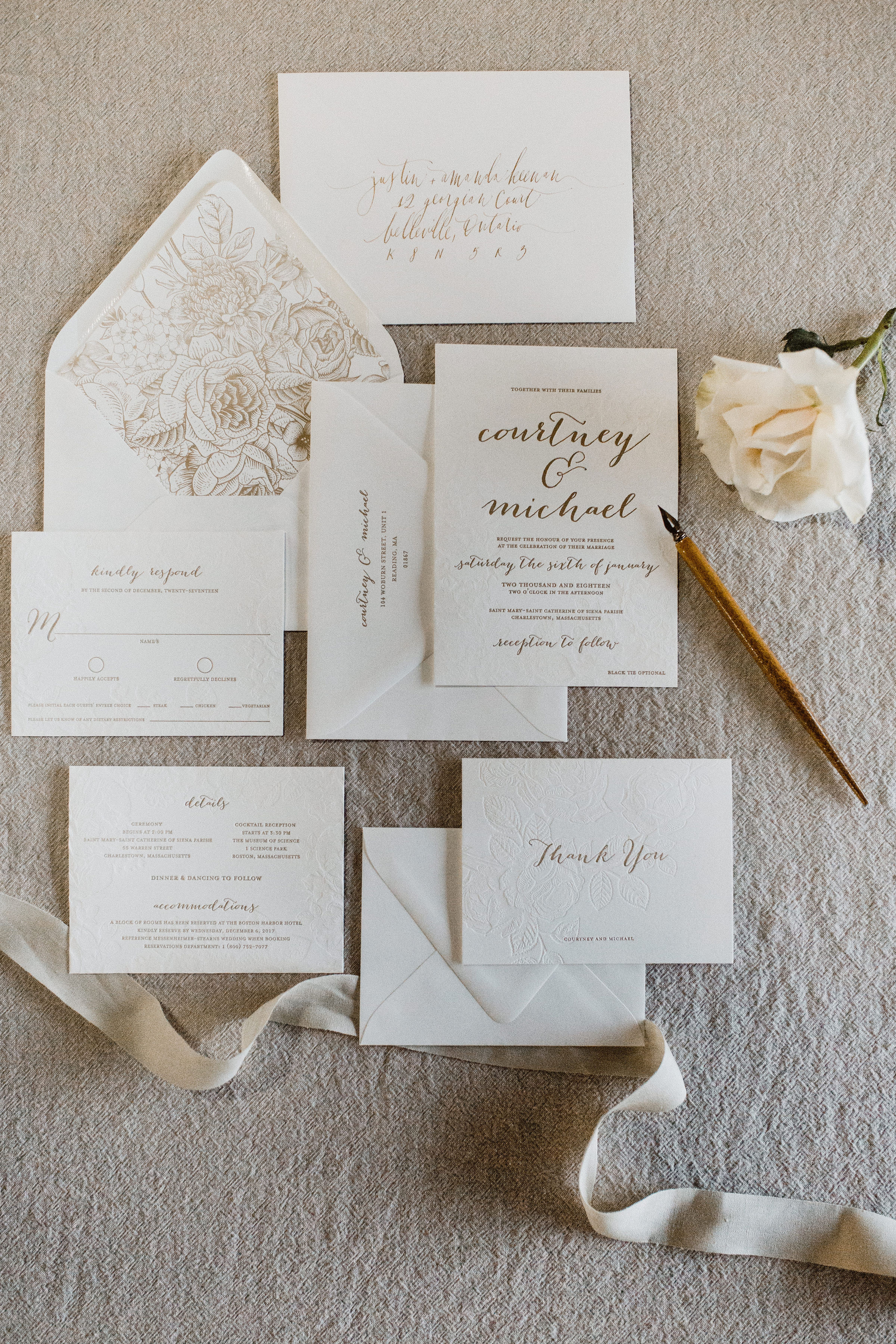 Download free guide to wording your wedding stationery