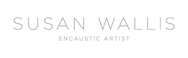 susan wallis encaustic artist branding by silverplate press