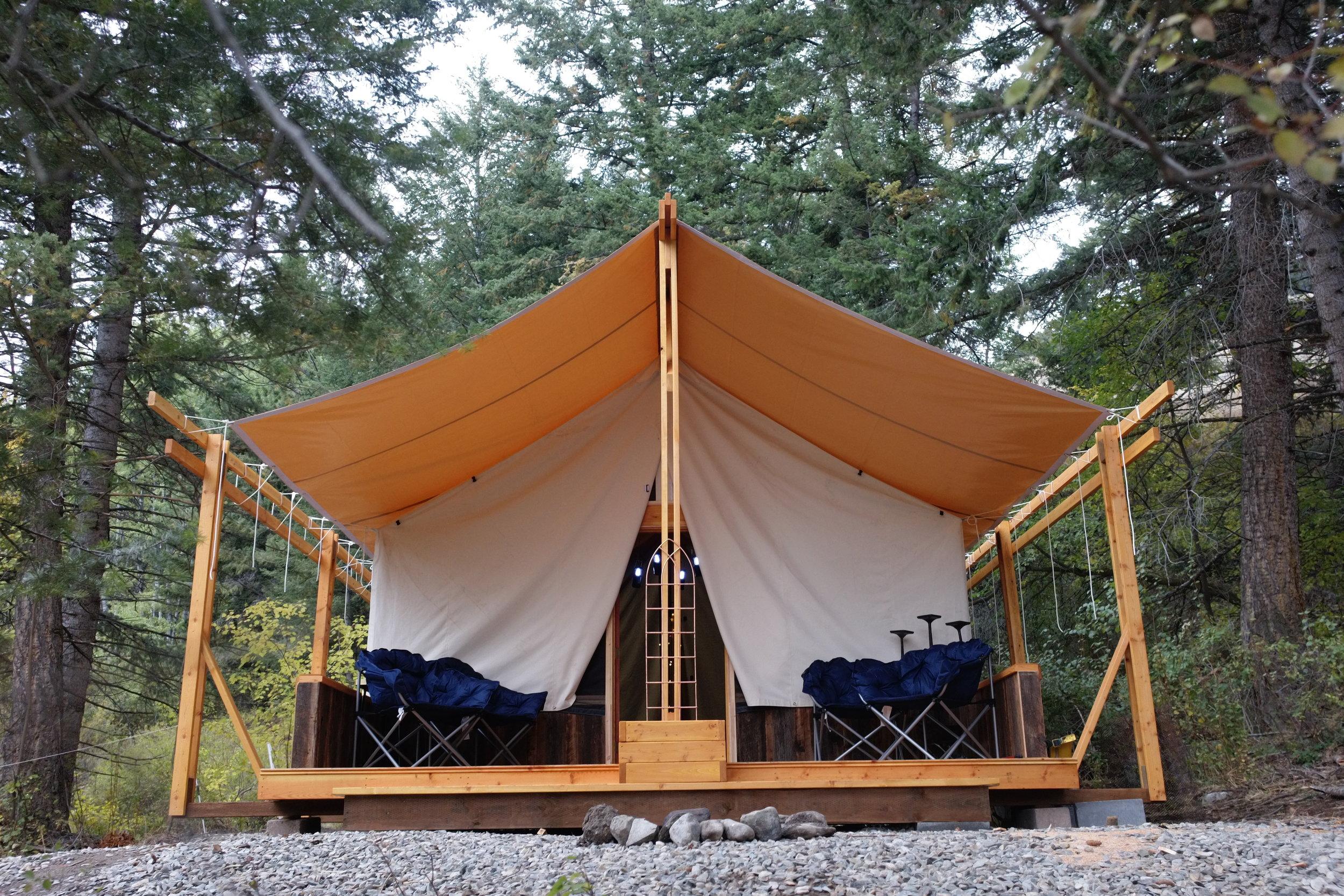 Hardwall Tent